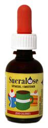 Sukralos sötningsmedel i praktikst droppflaska Bra köp till rätt pris foto av flaskan